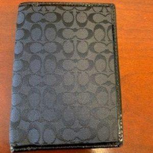 Coach Passport Cover